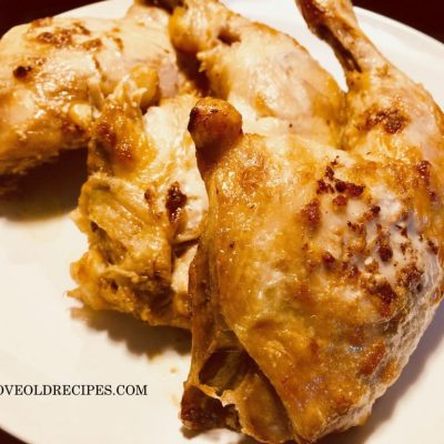 roasted chicken a la Tatar - www.iloveoldrecipes.com