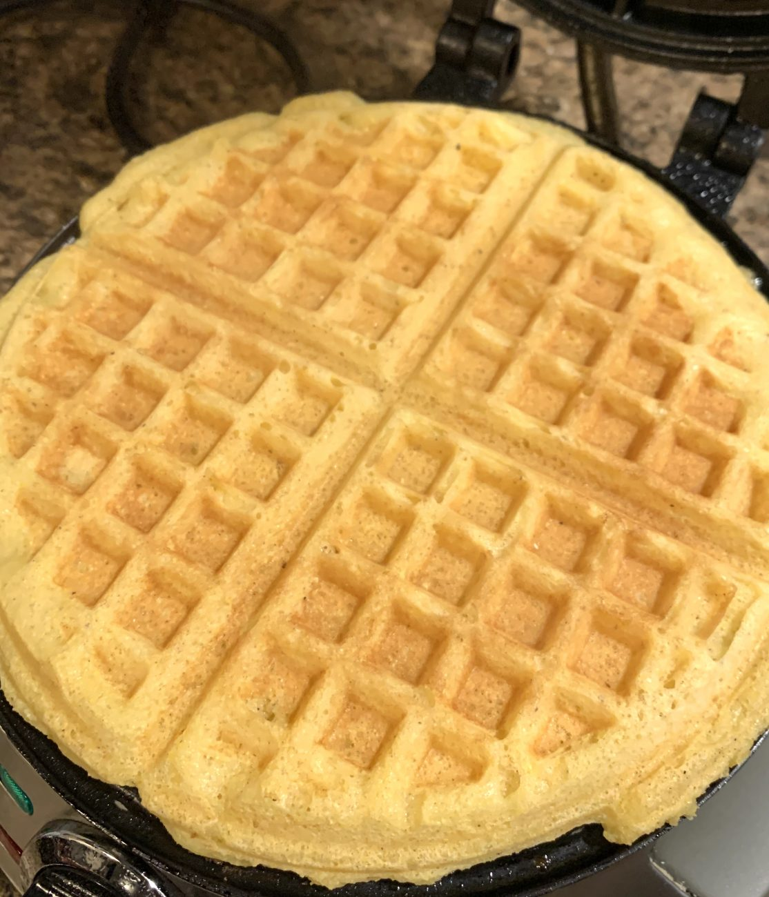 Texan Yellow Corn Waffles from 1980s